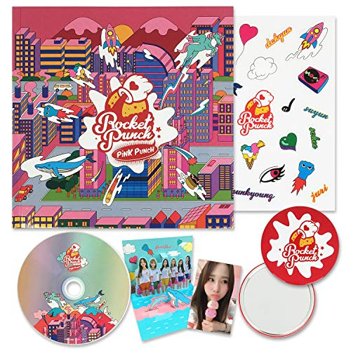 ROCKET PUNCH 1st Mini Album - [ PINK PUNCH ] CD + Booklet + Pop-up Card + Sticker + Photocard + FREE GIFT / K-POP Sealed