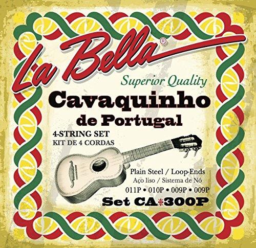 Juego CA300P Labella Cuerdas cavaquinho/Portugués 09.11