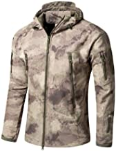 HESHI Ski-jack waterdicht militair trainingsjack tactisch softshell-fleece bionic camouflage jas winddicht regenbestendig ...
