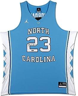 Michael Jordan Autographed North Carolina Blue Authentic Brand Jordan Jersey  UDA 11117970c