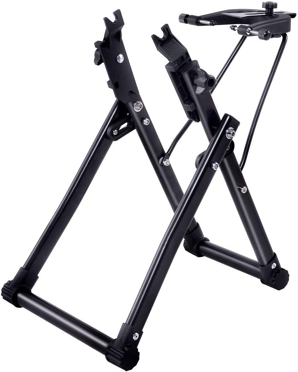 """ASCELY Wheel Truing Stand Simple Convenient Bike Truing Stand Home DIY Bicycle Repair Maintenance Support Tool Accessory for16-29"""" 700C Wheels : Sports & Outdoors"""