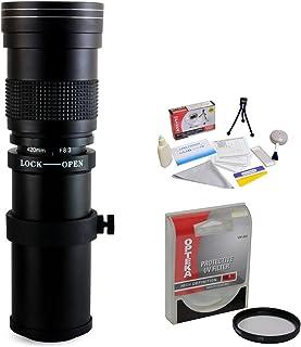 Opteka 420–800mm f / 8.3HD望遠ズームレンズwith UVフィルターfor Pentax K - 1K - 3II , KP , k-70、K - s2、k-s1、k-500, K - 50, K - 30, k5, K - 7, K - 5, K - 3, k-2, K - x , k20d , k100d , k110d , k10dデジタルSLRカメラ