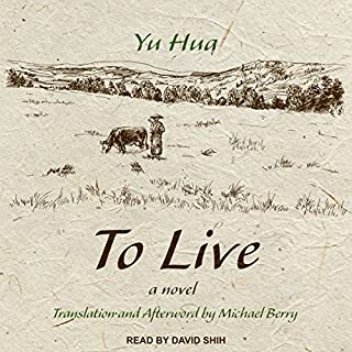 To Live audiobook cover art