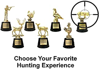 Trophy Crunch - Customized Hunting Theme Trophies - Free Plate Engraving