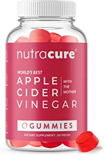 Apple Cider Vinegar Gummies - Raw, Organic, Unfiltered ACV with The Mother - More Effective Than Pills and Capsules - Supp...