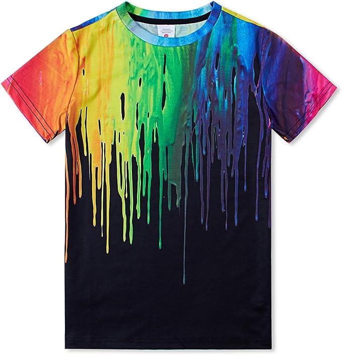 875 opinioni per IDGREATIM Ragazzo Ragazze t Shirt 3D Magliette Stampata Grafica per Bambini