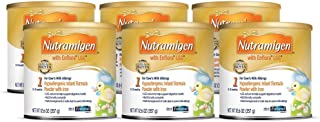 12.6 Ounce, Nutramigen Complete Nutrition Babies Cow's Milk Allergy Powder Can, Case of 6