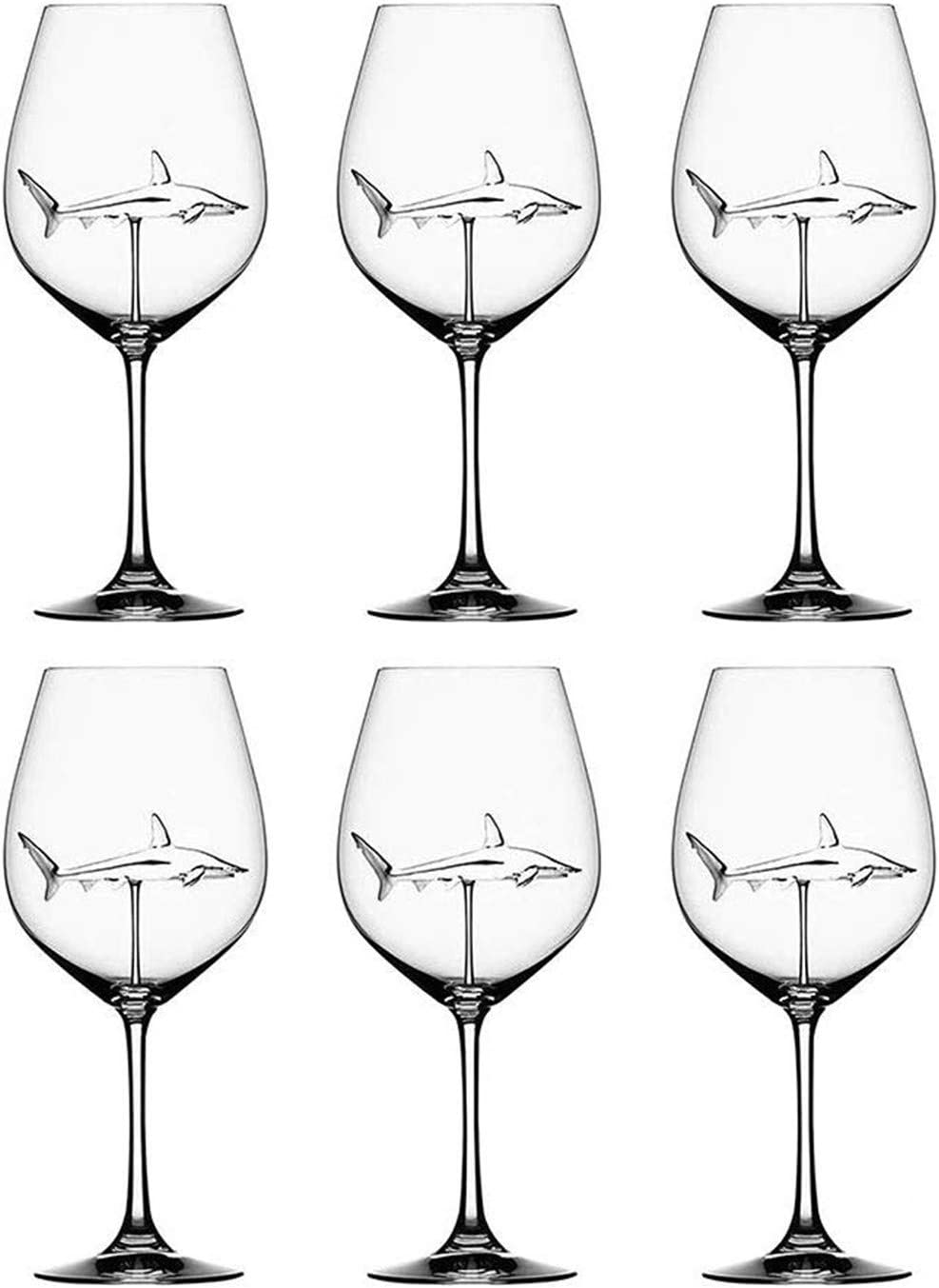 SXFSE Red Wine Oklahoma Nippon regular agency City Mall Glasses Adults Shark Creat for