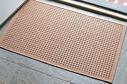 WaterHog Fashion Mat   Commercial-Grade Entrance Mat with Fabric Border