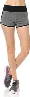 LoveInStyle 腰带撞色瑜伽折叠短裤