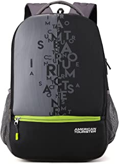 af2515afe American Tourister 32 Ltrs Black Casual Backpack (AMT Fizz SCH Bag 02 -  Black)