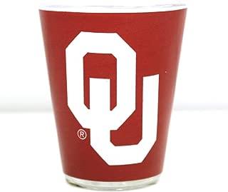 Jenkins Enterprises Oklahoma Sooners Two Tone Shot Glass