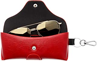 Built-In Mirror-By OptiPlix Dual Glasses Case for Two Frames