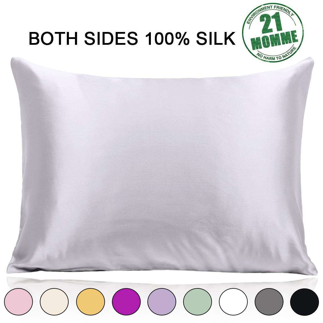 Mulberry Pillowcase Hypoallergenic Breathable 20%C3%9726inch