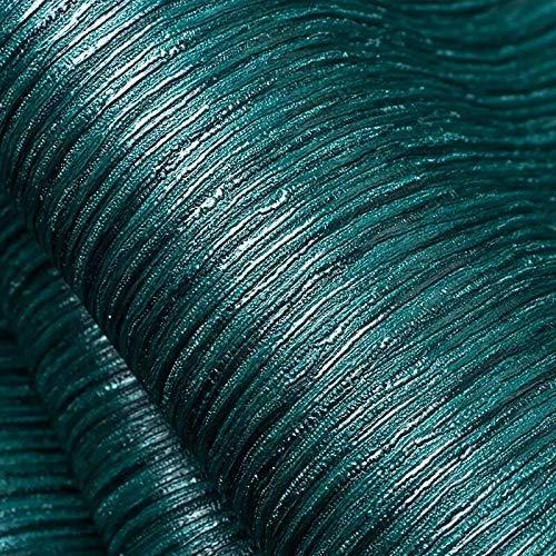 Gneric Vinilos Cocina Azulejos Fondo de Pantalla sudeste asiático Pavo Real Azul del Papel Pintado Exclusivo Restaurante de Vestuario Hotel Profundo en Relieve de Cuero de imitación de Color s
