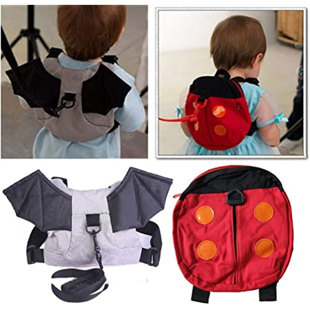 Children Soft Stuffed Animal Mini Cute Backpack Safe Kids Bag with Anti-Lose Leash for Boys and Girls