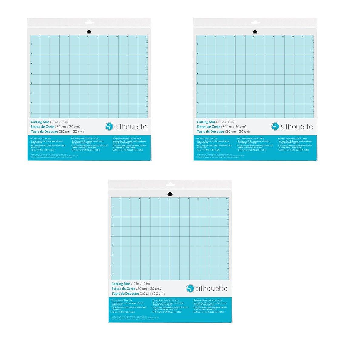 Silhouettes Cameo Corte Mat-Twin Pack, Verde, 34,3 x 33 x 0,1 cm: Amazon.es: Hogar