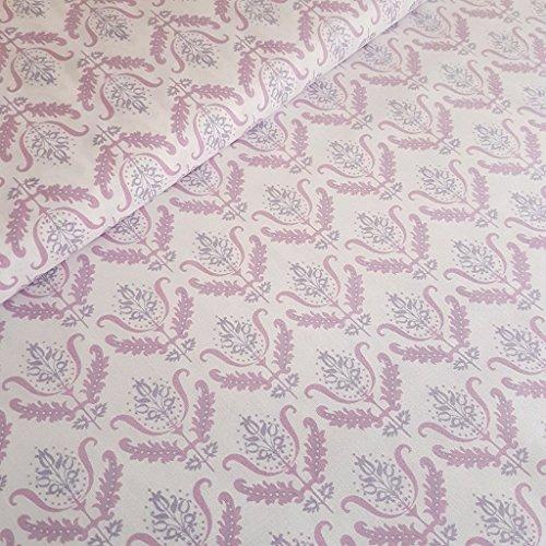 Barock pink auf weiß Notting Hill Baumwolle Stoff–Gütermann–von Fat Quarter