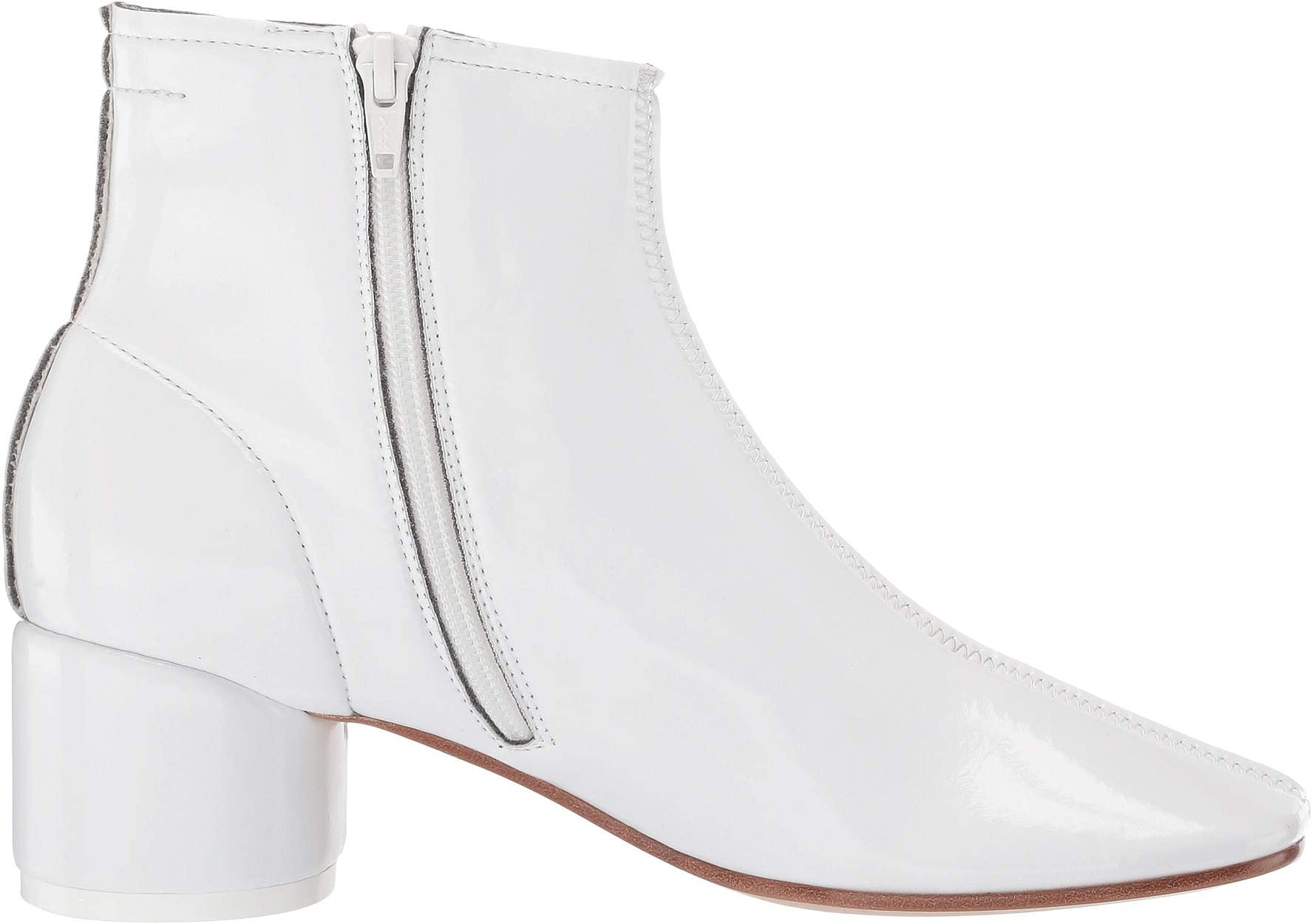 MM6 Maison Margiela Classic Round Low Heel Boot | Women's shoes | 2020 Newest