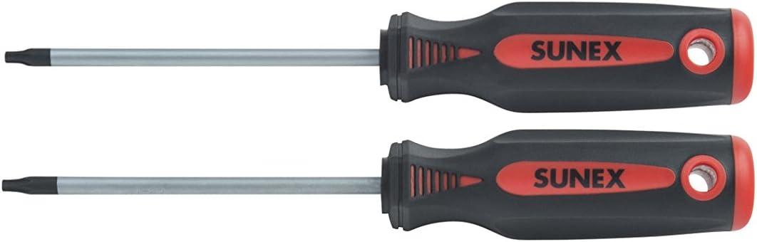 Sunex 112TX Torx Screwdriver Set, T15/T20, 2Piece