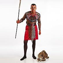 Disfraz de Guerrero Masái para hombre