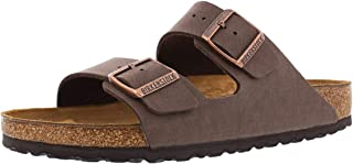 Birkenstock Arizona Sandals Birkibuc Mocha Mens 41 Euro (Men US 8-8.5)