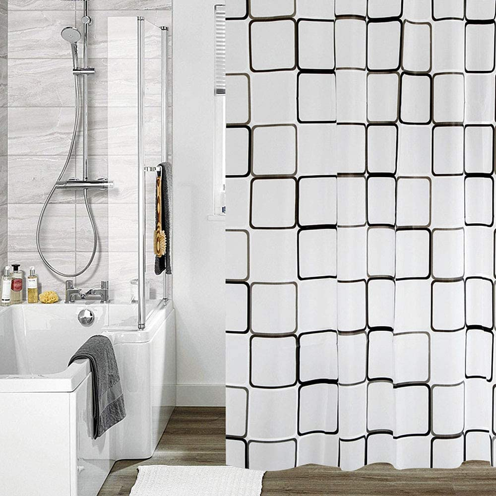 Shower Curtain Denver Mall Liner 100% Eco-Friendly PEVA - 240 CM X Don't miss the campaign 80 180