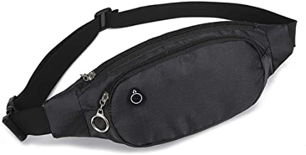 RINKOUa Running Waist Pack, Women Wide Shoulder Strap Versatile Shoulder-Slung Small Square Bag ??Running Belt Bag