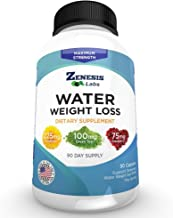 Water Pill Diuretic - Weight Loss - 90 Capsules (50% More Than competitors)