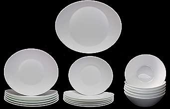 Bormioli Rocco Maiolica Blue 24-Piece Dinner Service Set