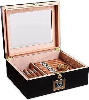 Humidors Cigar Box Cigar Fuktgivande och fuktighet Cigarrlåda Presentpaket