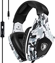 Xbox One Gaming Headset,SADES Stereo PC PS4 Gaming Headset with Microphone Noise..