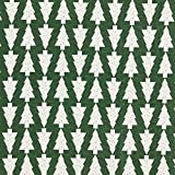 Fabulous Fabrics Weihnachtsstoff Jaquard Tannenbaum –