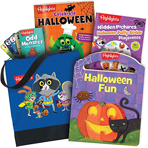 Highlights Halloween Activity Pack Ages 3-6