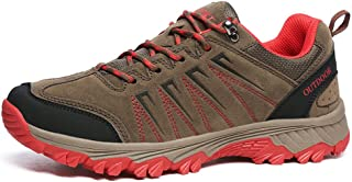 TERIAU Men's Walking Hiking Boots Waterproof Lightweight Outdoor Shoes