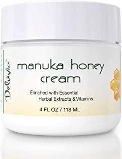 Day and Night Manuka Honey Cream for Face and Body | Certified Active 16+ | Organic Aloe Vera | Anti Aging | Helps Relieve...