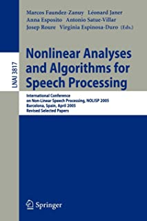 Nonlinear Analyses and Algorithms for Speech Processing: International Conference on Non-Linear Speech Processing, NOLISP ...