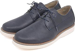 [セレブル] カンゴール KANGOL Extra Comfort カジュアル ビジネスシューズ メンズ 外羽根 パンチング プレーントゥ 紳士靴 幅広 3e 軽量 防滑 衝撃吸収 屈曲性 歩きやすい