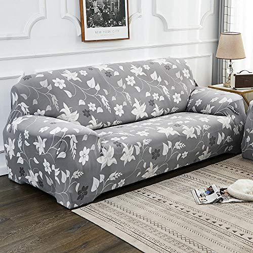 HXTSWGS Fundas de Sofa Cubierta de Sofa,Funda de sofá de Sala de Estar de 1/2/3/4 Asiento, Funda de Asiento de sofá Flexible, Funda de Asiento de Muebles extraíble y Lavable-Color1_145-185cm_