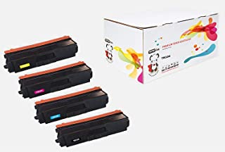 YoYoInk Compatible Toner Cartridge Replacement for Brother TN336 TN 336 (1 Black, 1 Cyan, 1 Magenta, 1 Yellow; 4-Pack)