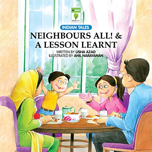 Neighbours All and A Lesson Learnt audiobook cover art