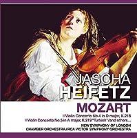 モーツァルト JASCHA HEIFETZ MOZART PCD-435