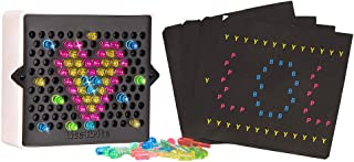 Lite Brite Basic Fun! 02216 Mini, Light Up Drawing Board, Mini LED Drawing Board with Colours, Travel-sized Toys for Creat...
