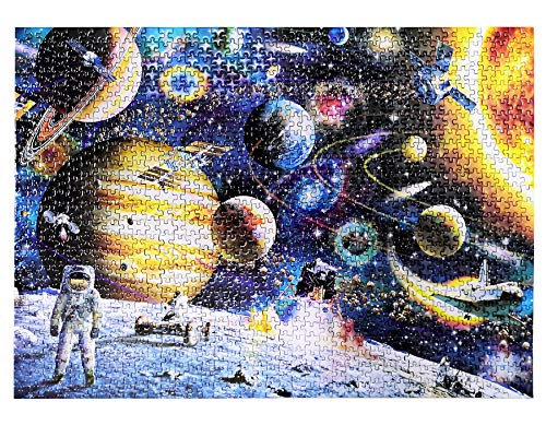 Jigsaw Puzzle 1000 Pieces - Space T…