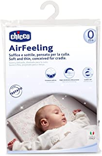 Chicco Airfeeling Adaptive Ergonomic Pillow For Cot And Pram - White