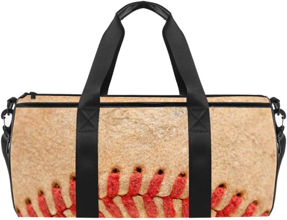 AISSO Duffel Austin Mall Bag for Women Men Baseball Wood Vintage Sport Max 43% OFF Style