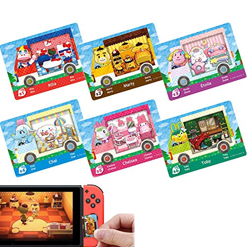 Sanrio Animal Crossing Amiibo Cards ACNH Sanrio Collaboration Mini Card...