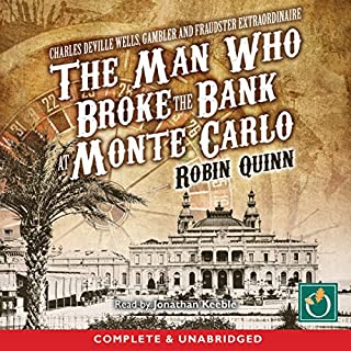 The Man Who Broke the Bank at Monte Carlo audiobook cover art