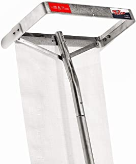 SNOWPEELER Premium   Roof Rake for Snow Removal   30 ft. Handle   Lightweight   Clear Your Roof in No Time   Ideal for Long or Low-Pitched Roofs   Tear-Resistant Snow Slide