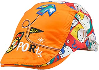MTFS Child Sport Cartoon Newsboy Caps Flat Hats Gatsby Peaked Cap